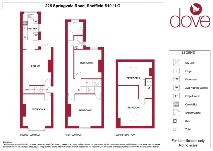 Floor plan for 225 Springvale Road, Crookes
