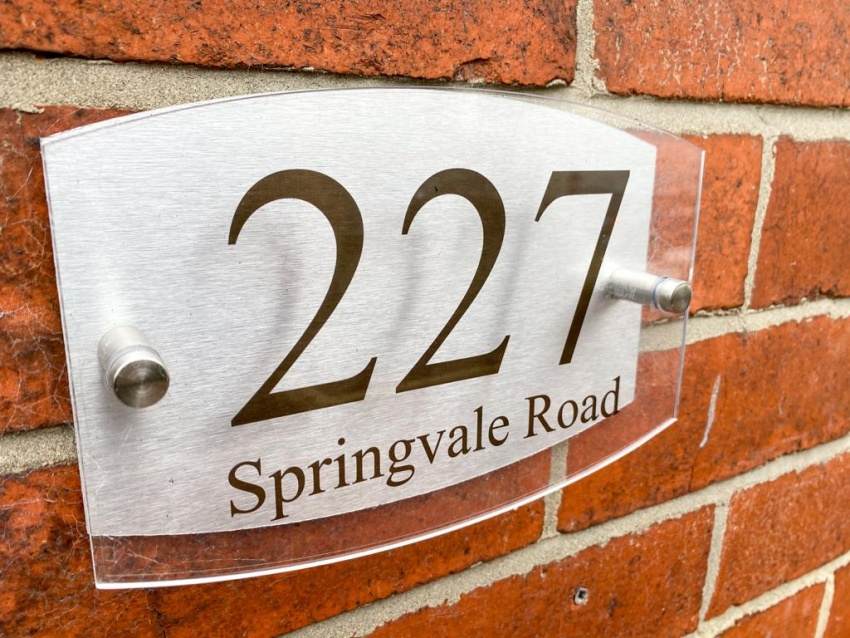 Springvale Road - Sheffield Student House - External