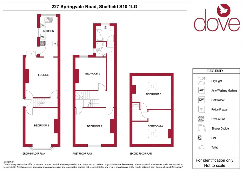 Floor plan for 227 Springvale Road, Crookes