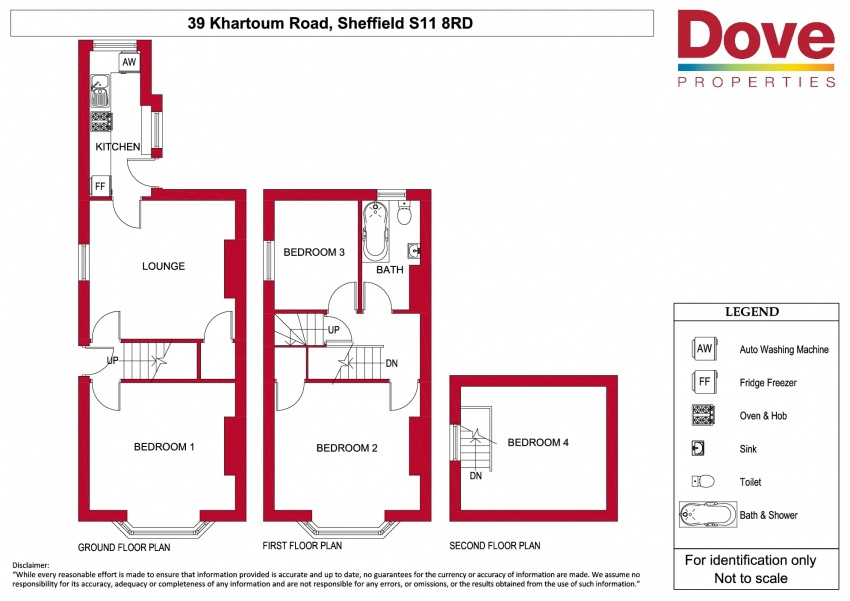 Floor plan for 39 Khartoum Road, Ecclesall Road