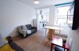 Pomona Street, Sheffield Student Housing - Kitchen/Lounge