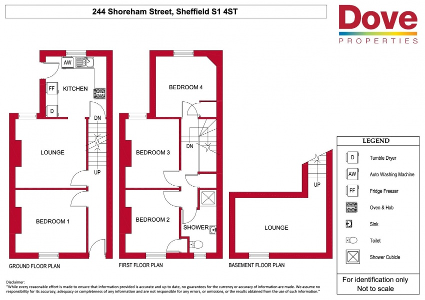 Floor plan for 244 Shoreham Street, Shoreham Street