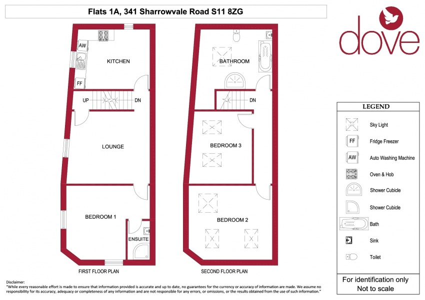 Floor plan for Flat 1A 341-343 Sharrowvale Road, Ecclesall Road