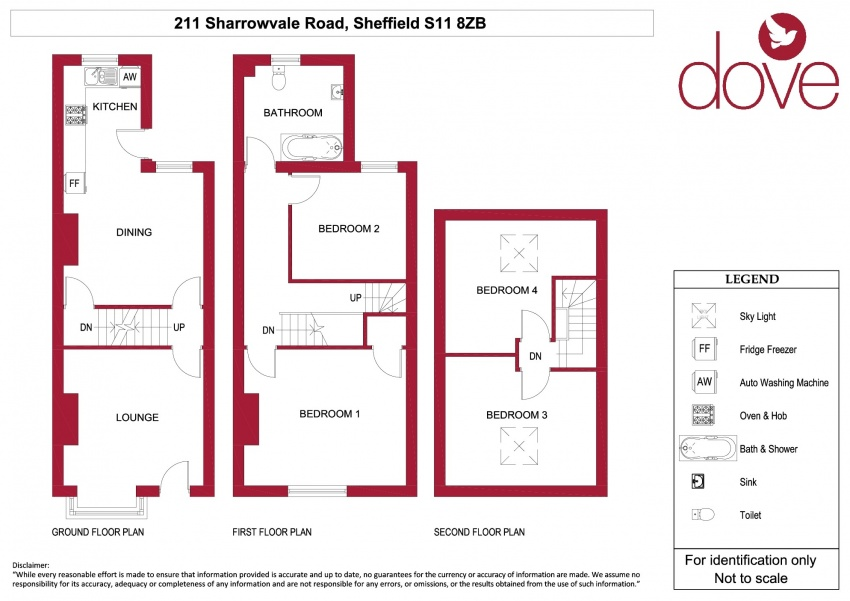 Floor plan for 211 Sharrowvale Road, Ecclesall Road
