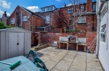 Broomspring Lane, Sheffield Student Housing - Rear Patio/Bbq Area