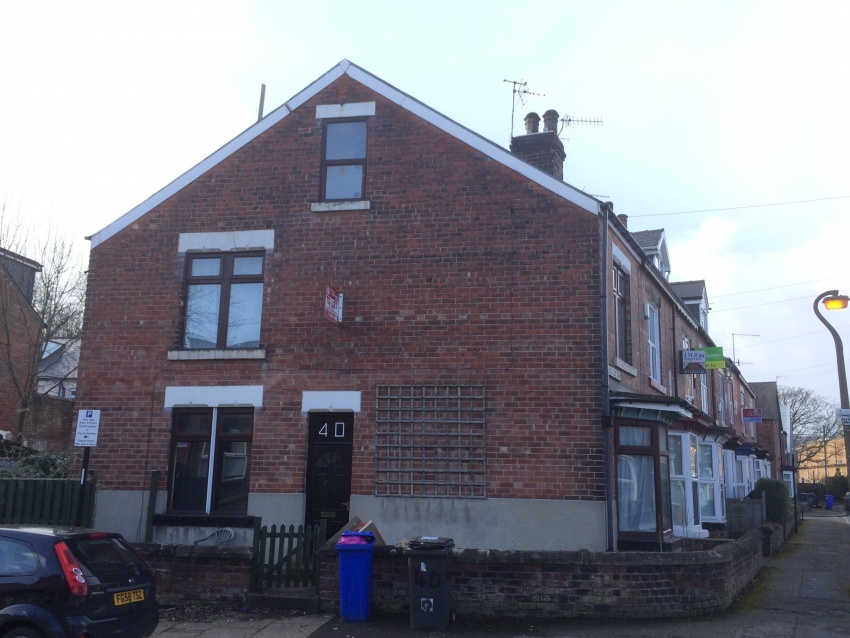 Bed Student Properties Harefield Road Sheffield