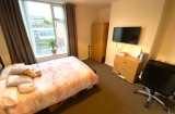 Sheffield Student Flat - Bedroom