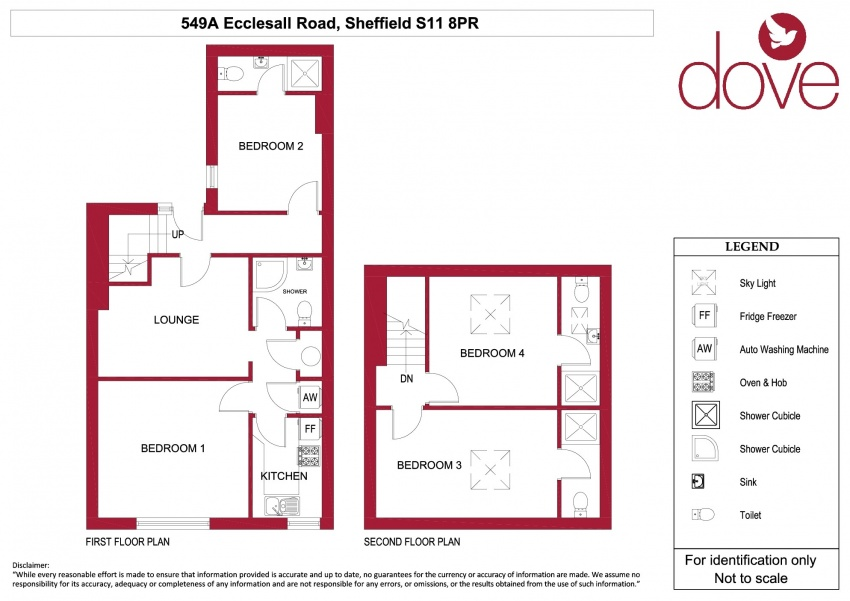 Floor plan for 549a Ecclesall Road, Ecclesall Road