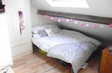 Stewart Road - Sheffield Student House - Attic Bedroom
