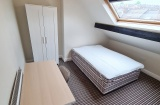Guest Road - Sheffield Student Housing - Attic Bedroom