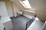 Blair Athol Road - Sheffield Student Property - Attic Bedroom