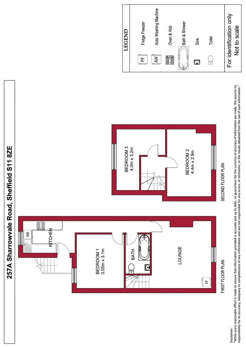 Floor plan for 257a Sharrowvale Road, Ecclesall Road