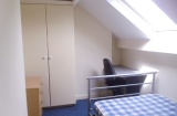 Rossington Road - Sheffield Student House - Attic Bedroom