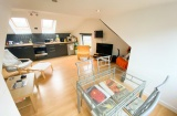 Ecclesall House, Sheffield Student Property - Lounge/Kitchen