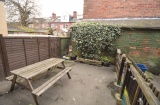 Pomona St, Sheffield Student Housing - Rear Yard