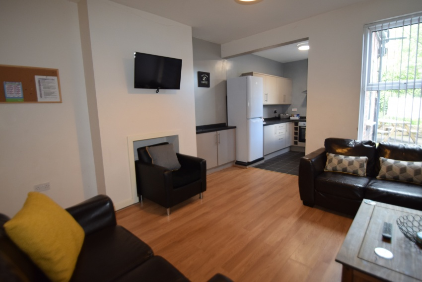 Guest Road, Sheffield Student Housing - Lounge