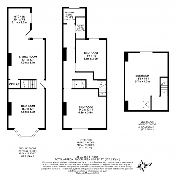 Floor plan for 28 Guest Road, Hunters Bar
