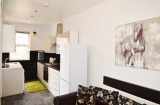 Pomona Street - Sheffield Student Housing - Lounge/Kitchen