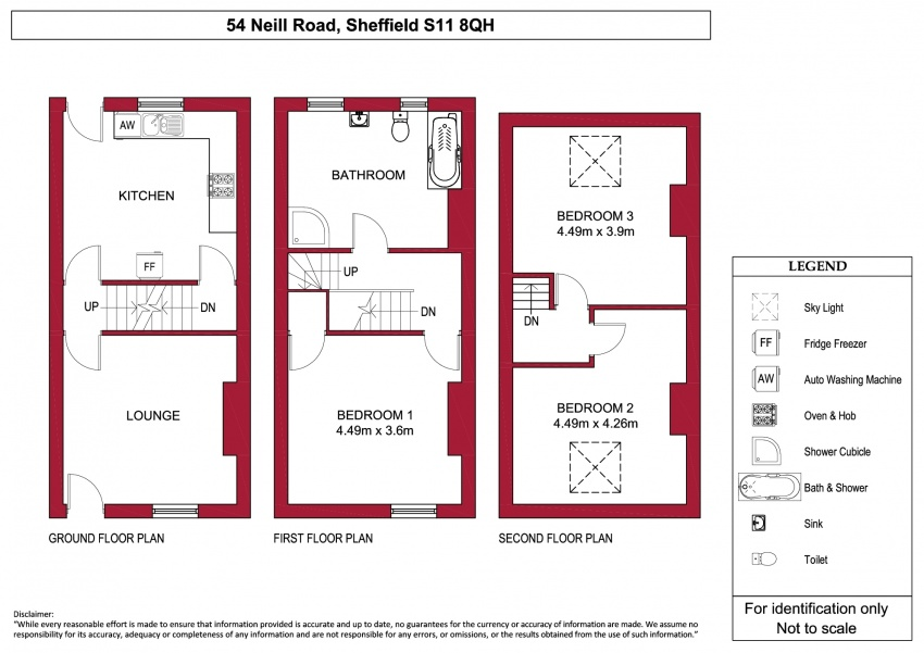 Floor plan for 54 Neill Road, Ecclesall Road