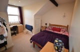 Ecclesall Road - Sheffield Student Flat - Bedroom 1