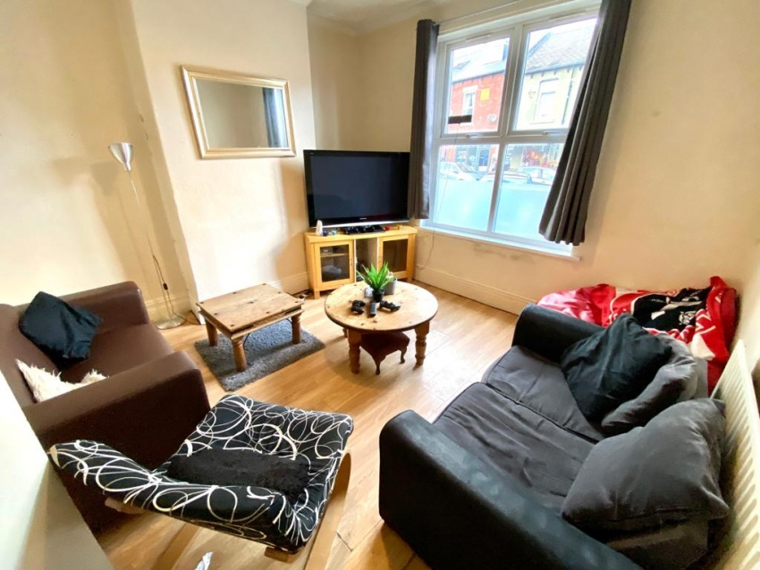 Sharrowvale Road, Sheffield Student Housing - Lounge