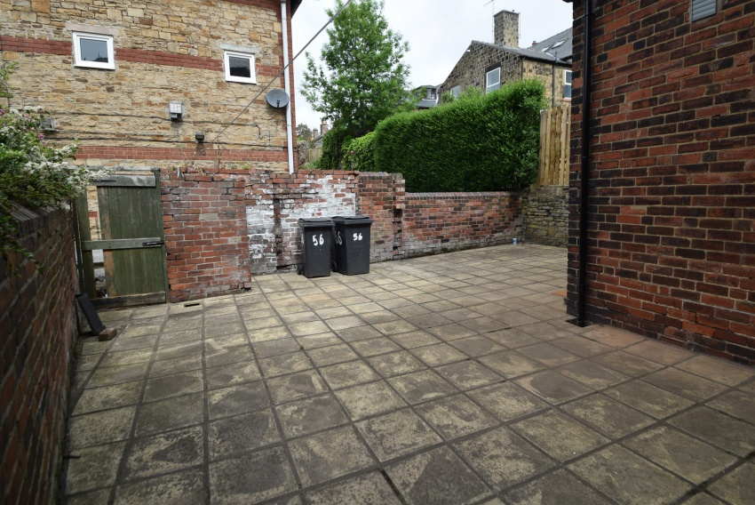 Brocco Bank, Sheffield Student Housing - Rear Patio